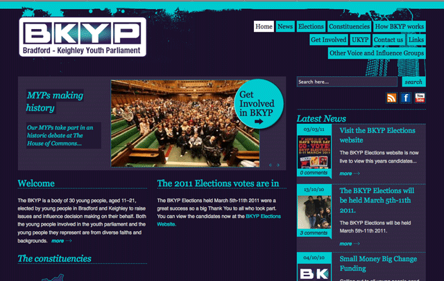 New website for BKYP
