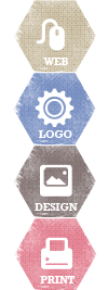 web logo design and print