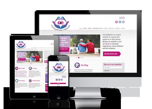 New website for Caring4Elders